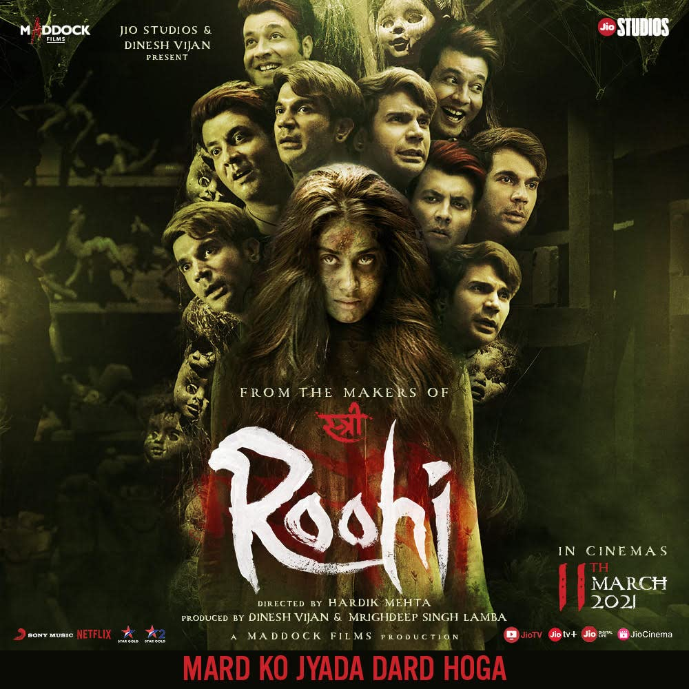 Roohi (2021) Hindi Full Movie HDRip ESub