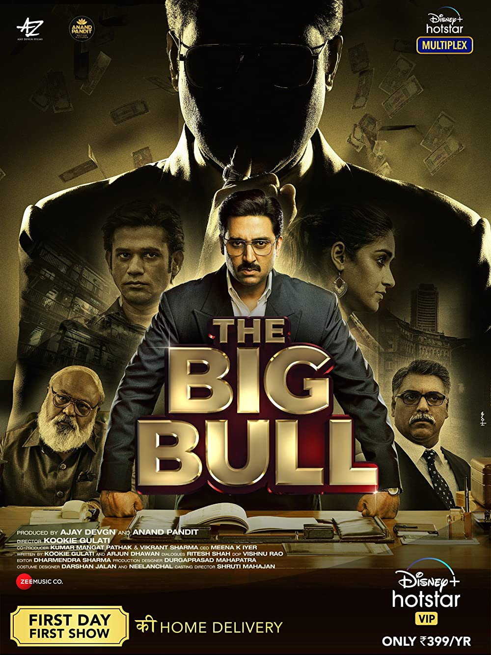 The Big Bull (2021) Hindi Full Movie HDRip ESub
