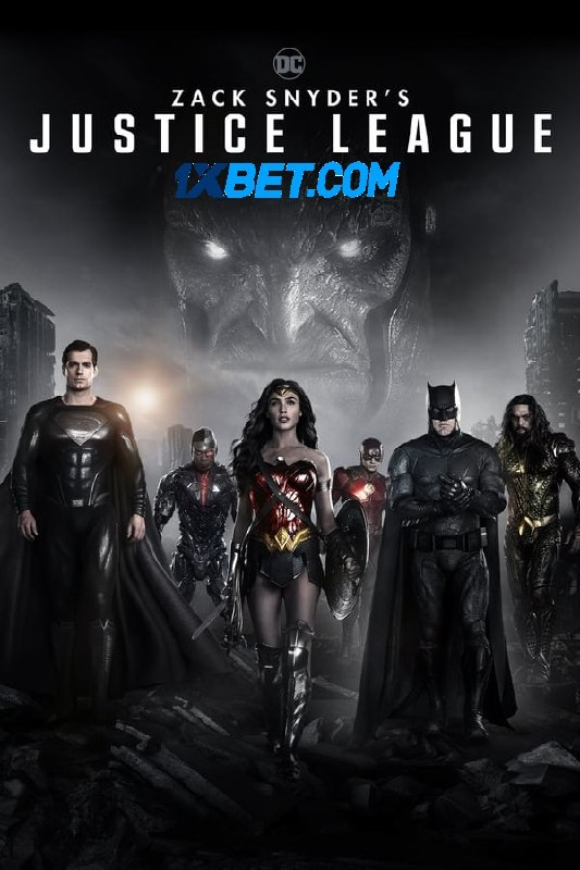 Zack Snyders Justice League (2021)  HDRip Hollywood Movie [Dual Audio] [Hindi (HQ FanDub) or English]