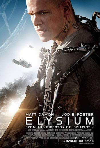 Elysium 2013 Dual Audio Hindi Eng Full Movie Download