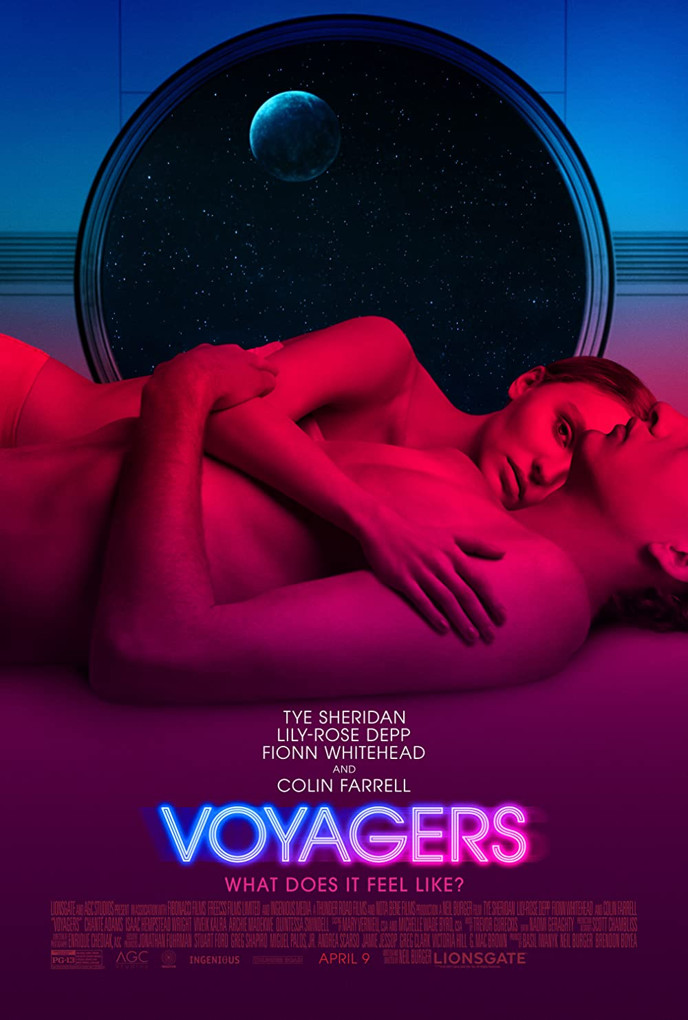 Voyagers (2021) Dual Audio Hindi [HQ Fan Dub] Full Movie Download