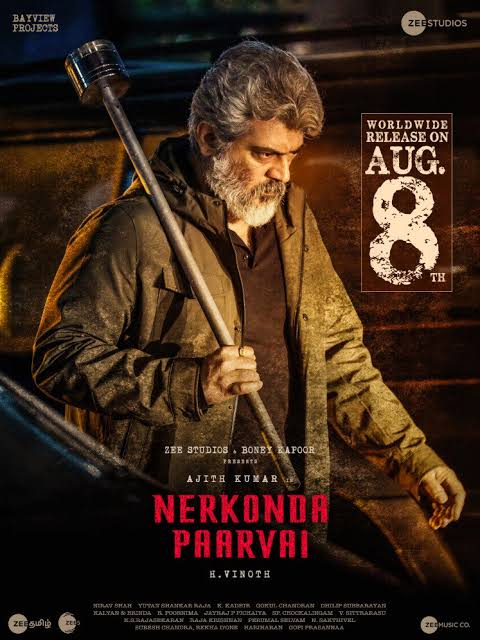 Maha Rakshak (Nerkonda Paarvai) 2021 Hindi Dubbed 720p HDRip ESubs Free Download