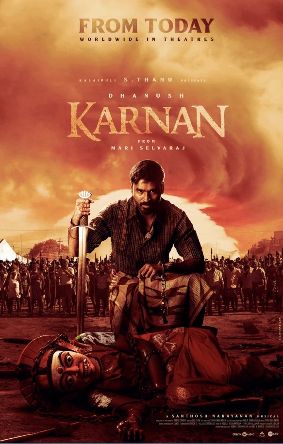 Karnan 2021 Tamil HQ PreDVDRip Full Movie Download