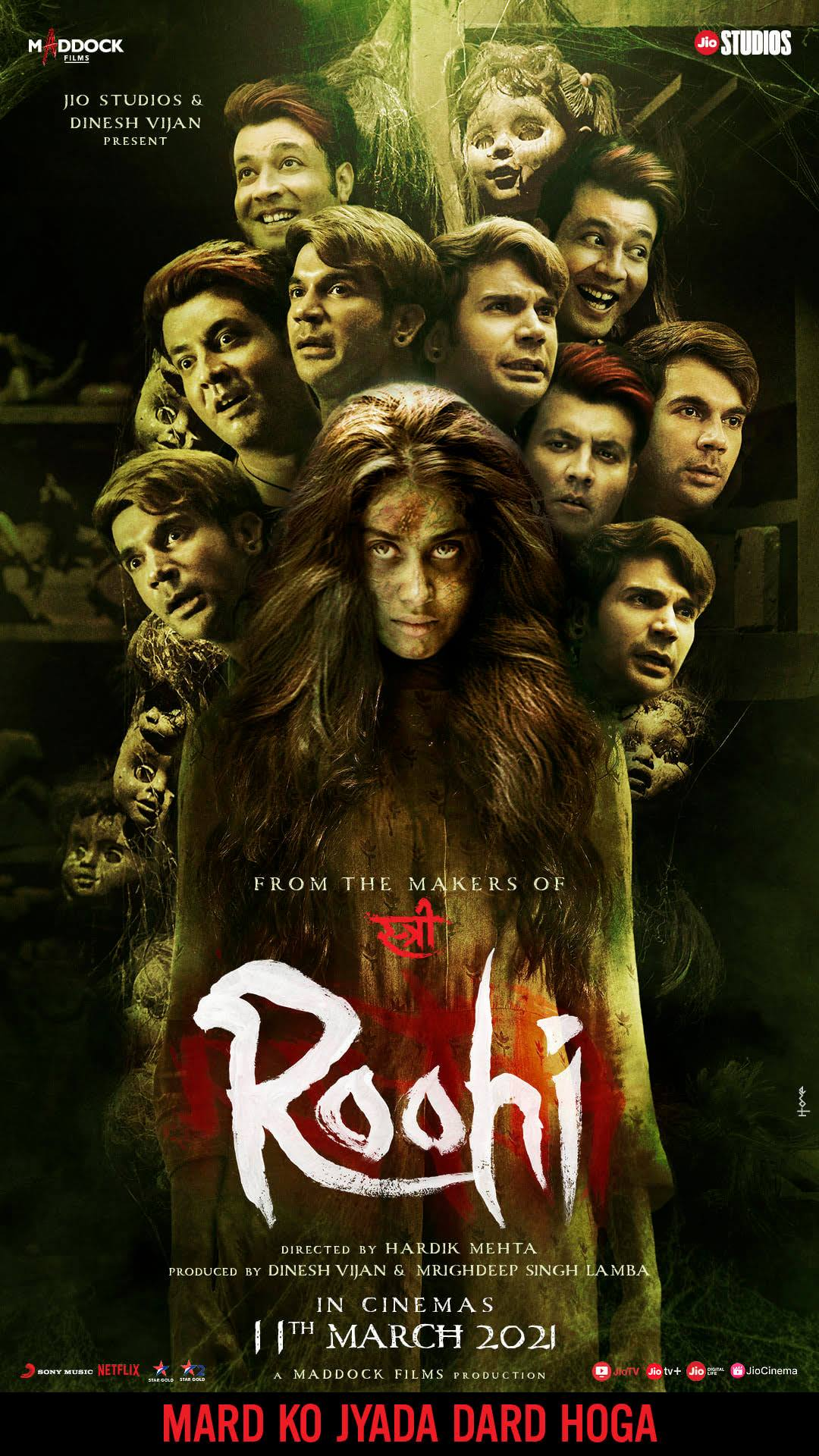 Roohi 2021 Hindi Full Movie Download