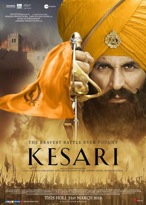 Kesari (2019) Hindi 720p BluRay 1.2GB ESubs Free Download