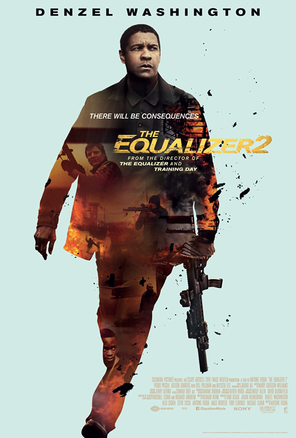 The Equalizer 2 2018 Hindi Dual Audio 400MB Full Movie Download