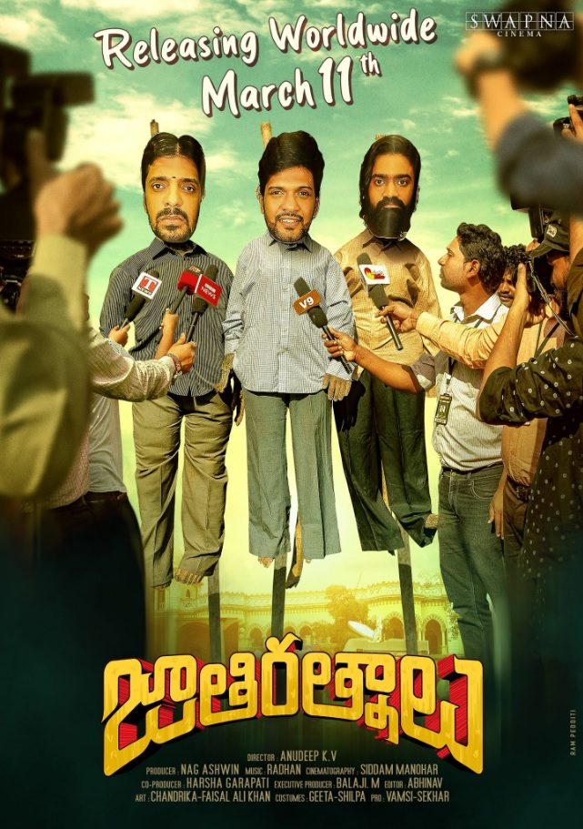 Jathi Ratnalu (2021) Telugu Full Movie  720p HDRip Download