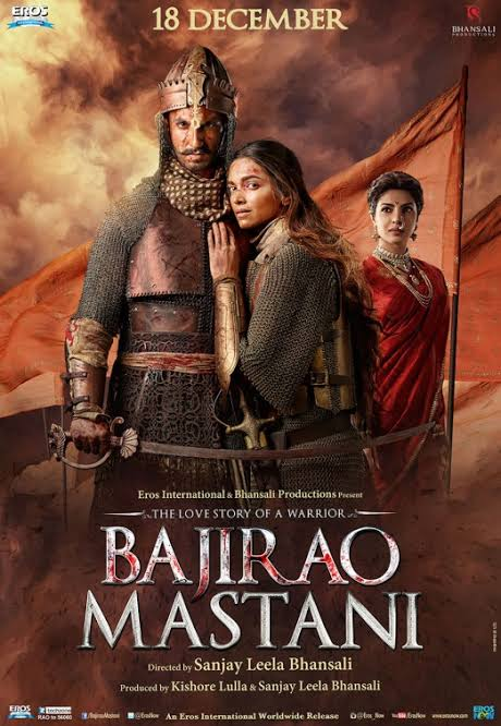 Bajirao Mastani 2015 Hindi 720p BRRip ESubs Download