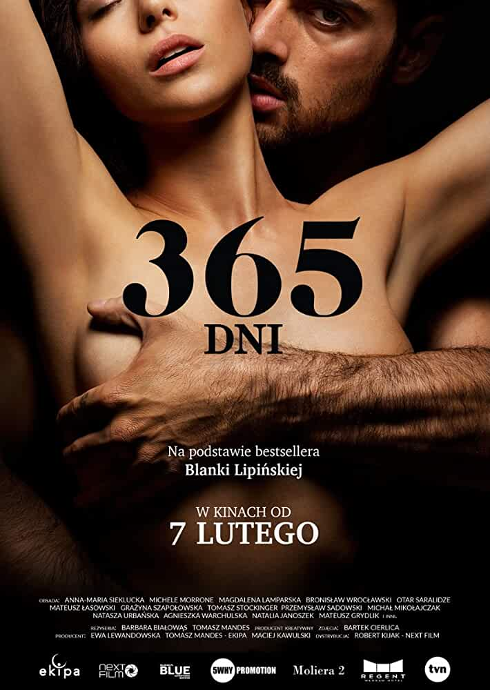 365 Days (2020) UNRATED 720p HEVC HDRip Full Hollywood Movie