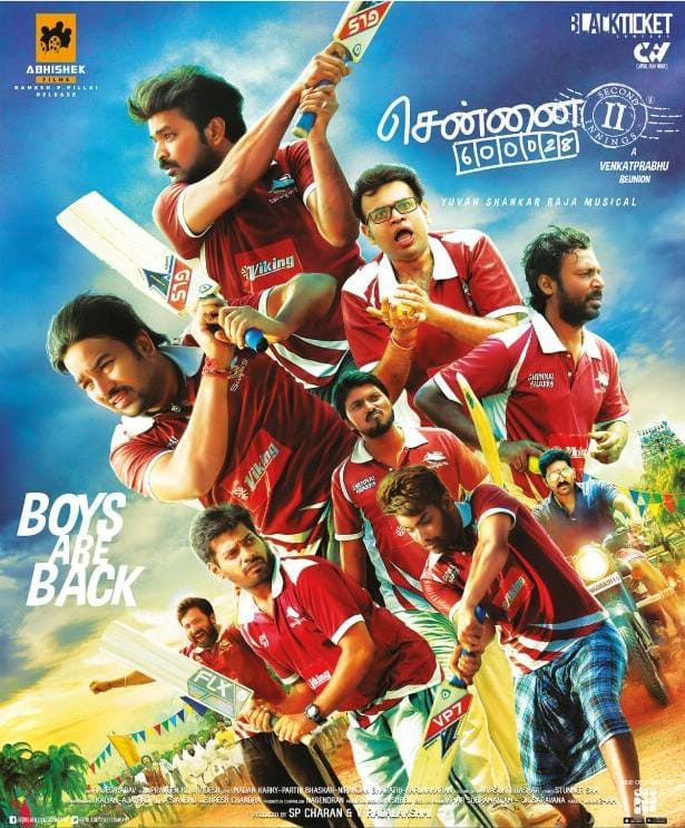 Chennai 600028 II (2021) Hindi Dubbed 400MB HDTVRip