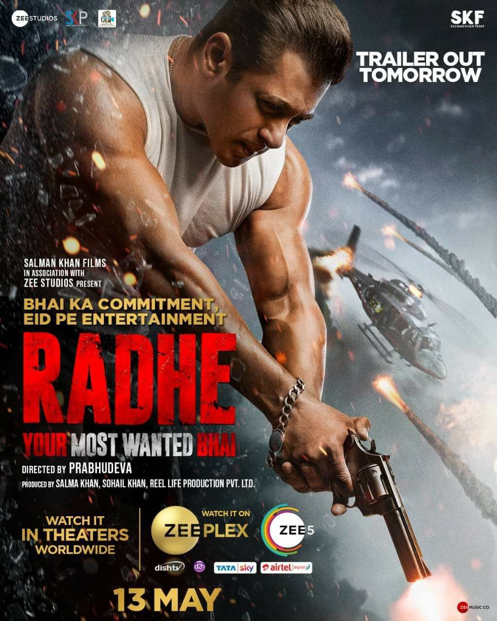Rade:Your Most Wanted Bhai (2021) Hindi Full Movie HDRip