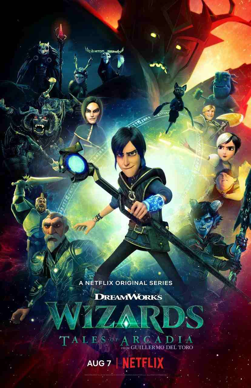 Wizards: Tales of Arcadia (2021) Hindi Completed 650MB HEVC HDRip 480p Full Movie