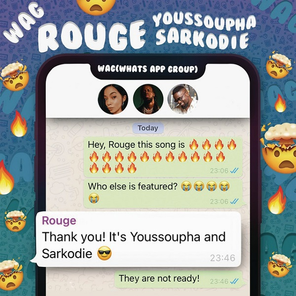Rouge - WAG Ft. Sarkodie & Youssoupha.mp3
